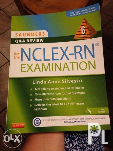 Saunders Q and A Review for the NCLEX-RN 6th Edition for Sale in
