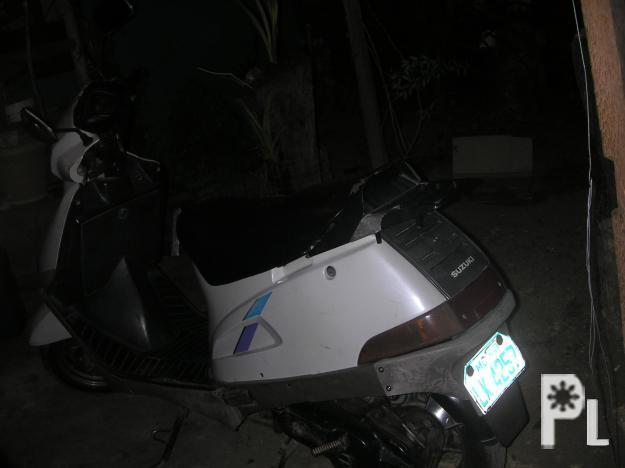 SCOOTER FOR SALE SUZUKI BRAND AT 18K ONLY.(DAVAO CITY