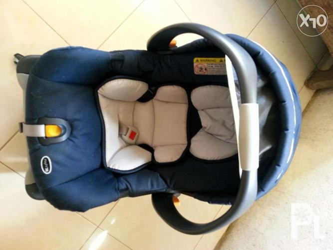 Second Hand Chicco Baby Car Seat For Sale In Tagaytay City