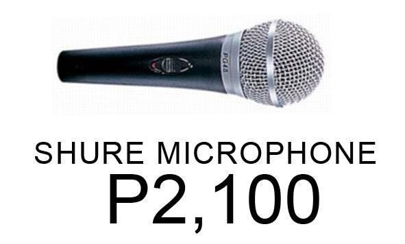 shure microphone for sale in cebu city central visayas classified. Black Bedroom Furniture Sets. Home Design Ideas