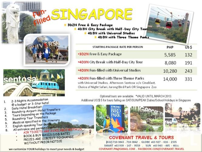 post singapore package: