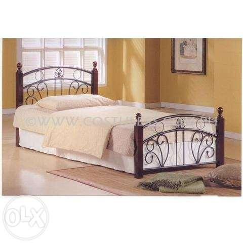Single bed frame home furniture beddings bedroom bed nv 101 for sale in manila national Home furniture single bed