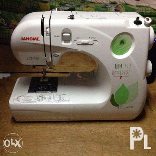 Slightly Use Sewing Machine Janome Brand For Sale In Quezon City Unique National Brand Sewing Machine