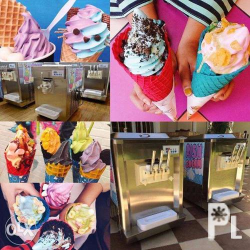 Soft Ice Cream Machines Available