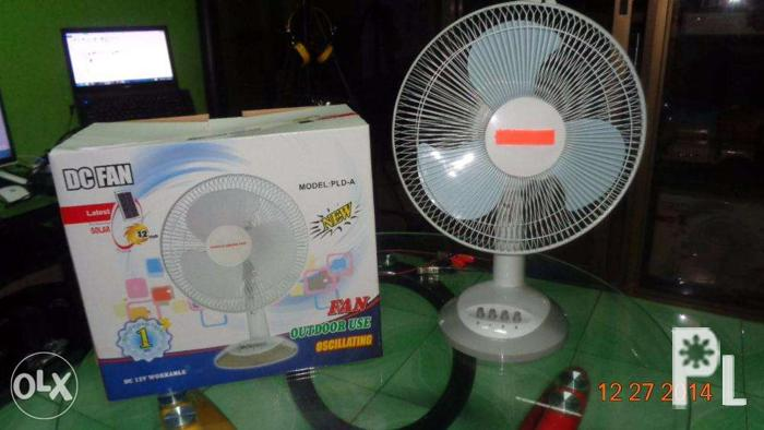 Solar Power DC-Electric Fan 12 Volts