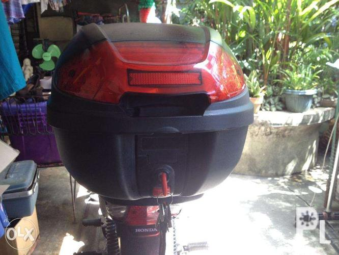 (SOLD) HNJ Topbox/storage Box For Motorcycle