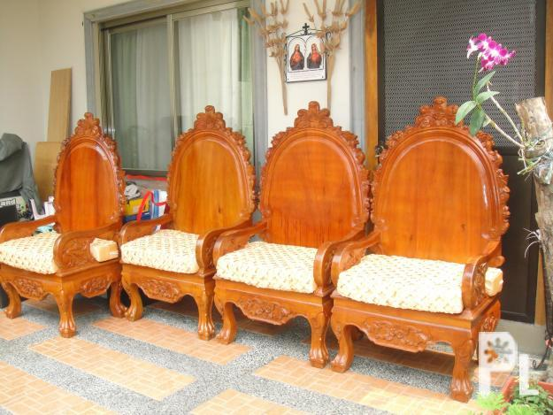 Solid Narra Sala Set Cainta Hand Dining Sale Philippines