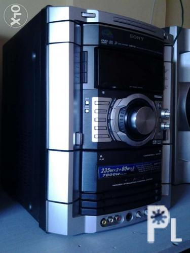 SONY HI FI COMPONENT SYSTEM model MHC-GN100D/ home