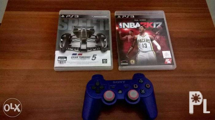 Sony Ps3 games and DS3 controller for Sale in Davao City