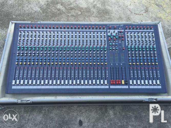 Soundcraft mixer 32 channel for Sale in Rosario, Calabarzon