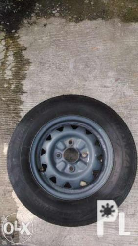 Spare Tire with Rim 13