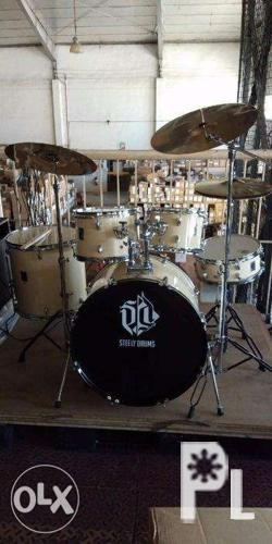 Steely Drums x-1 Drumset