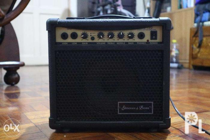 Stevenson and Brown Guitar Amplifier