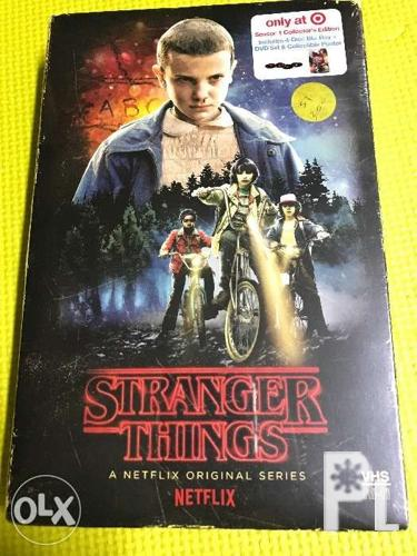 Stranger Things S1 Blu Ray