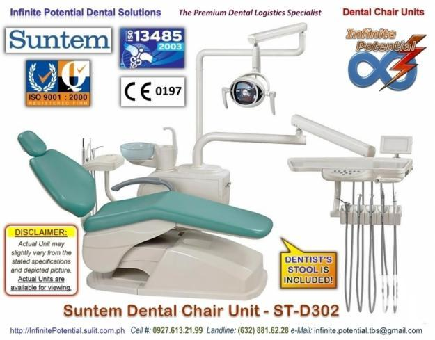 SUNTEM Dental Chair Unit - ST-D302 (Low-Mounted