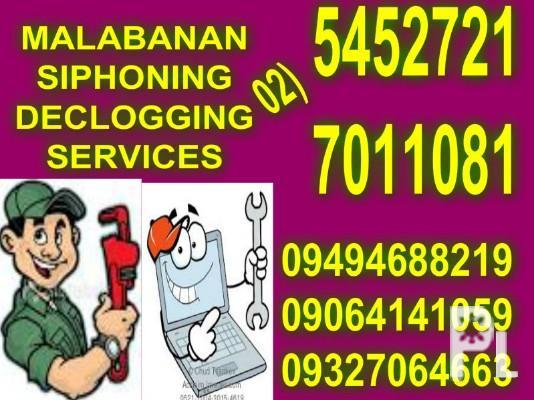 T-MALABANAN POZO NEGRO SERVICES 7011081/09494688219,