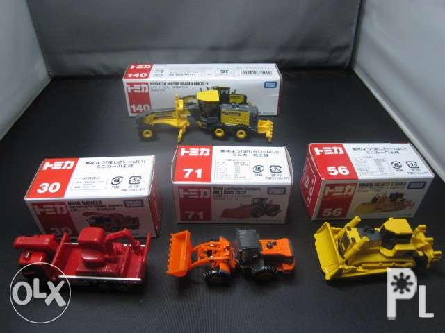 Takara Tomy Car Collection With Free Assorted Toy Cars For Sale In