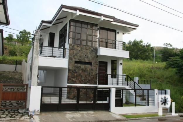 Talisay zen inspired house and lot for sale in talisay for Big modern house philippines