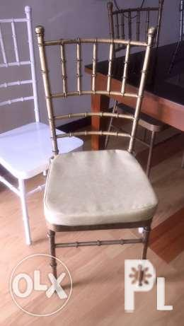 Tiffany chairs for restaurant function