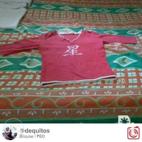 Red Blouse For Sale Philippines 27