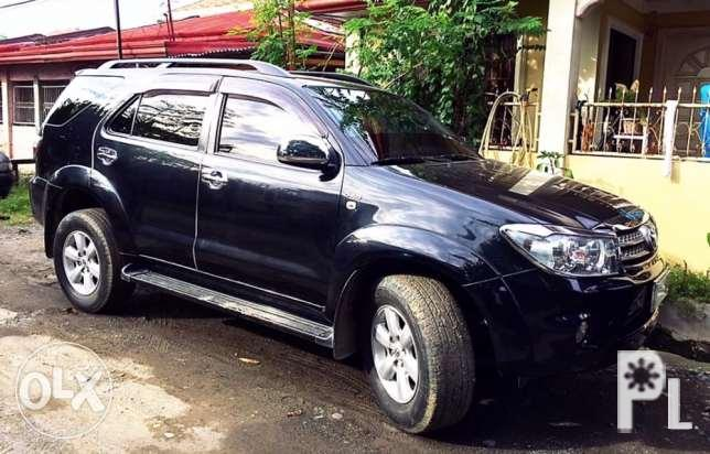 Toyota Fortuner G 2011 Manual 4x2