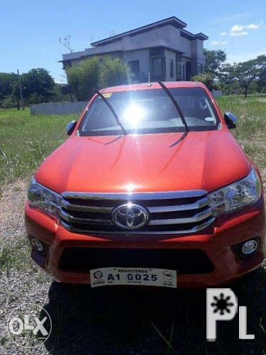 Toyota Hilux 2018 4x4 Automatic for Sale in Quezon City, National