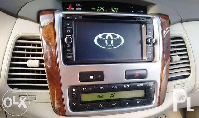 Toyota Innova Car TV DVD Android Head Unit Stereo with GPS