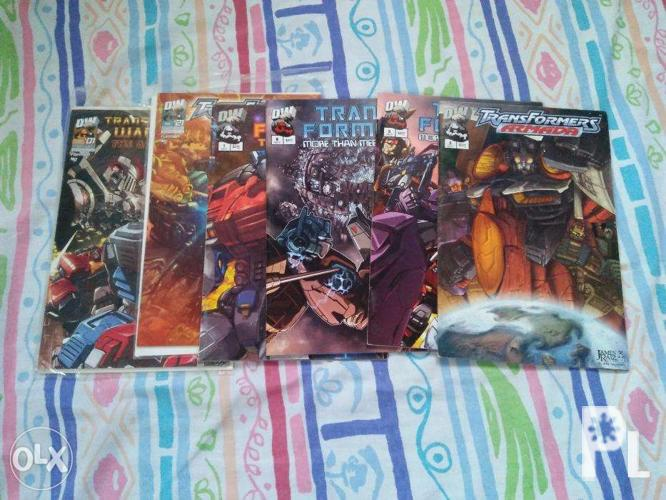 Transformers and Street Fighter Comics