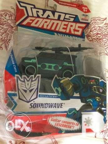 Transformers Animated Deluxe Deception Soundwave - on