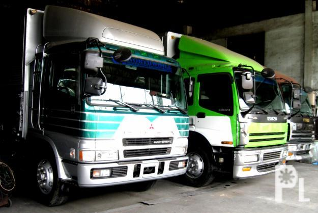 TRUCKS FOR SALE ISUZU forward 10 wheeler wingvan