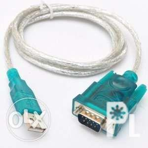 USB to RS232 Serial Port 9 Pin DB9 Cable Serial COM
