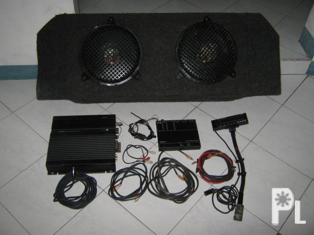 Used Car Audio System 2pcs JBL 10