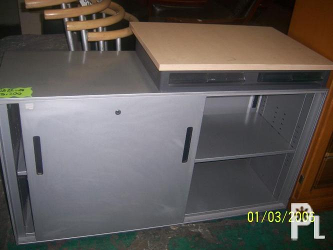 Used printer table w sliding cabinet quezon city for sale in quezon city national capital Home furniture quezon city