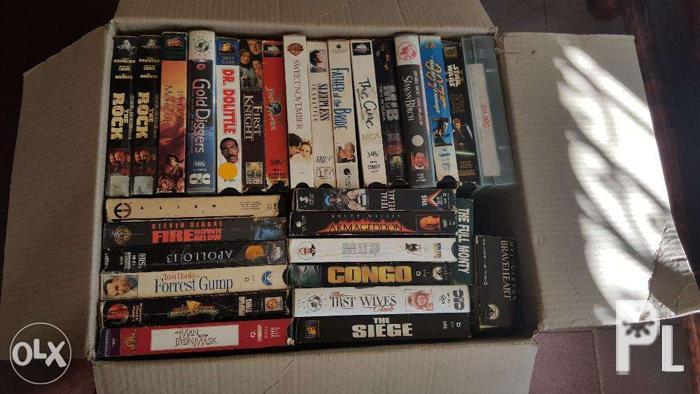 Used vhs tapes for Sale in Manila, National Capital Region