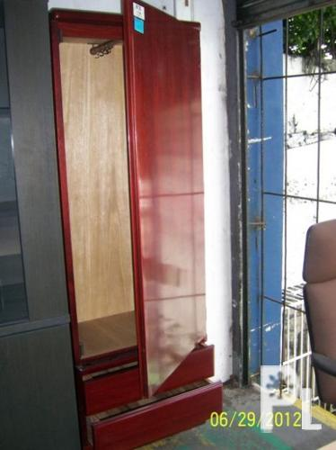 Used wardrobe wood cabinet for sale in quezon city national capital region classified Home furniture quezon city