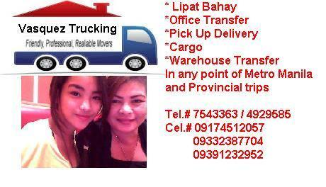 VASQUEZ TRUCKING SERVICES, imus