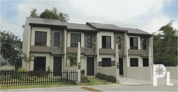 Villa roma townhouse complete house and lot phase 6 for Townhouse design in the philippines