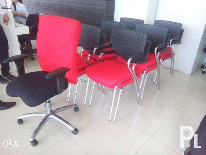 Visitors Chairs Office Furniture Partition Workstation For Sale In Quezon City National