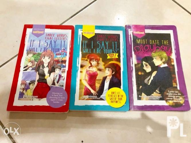 Wattpad Books Assorted Titles for Sale in Manila, National