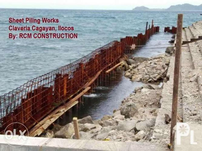 we accept as sheet piling subcon with vibro hammer for Sale