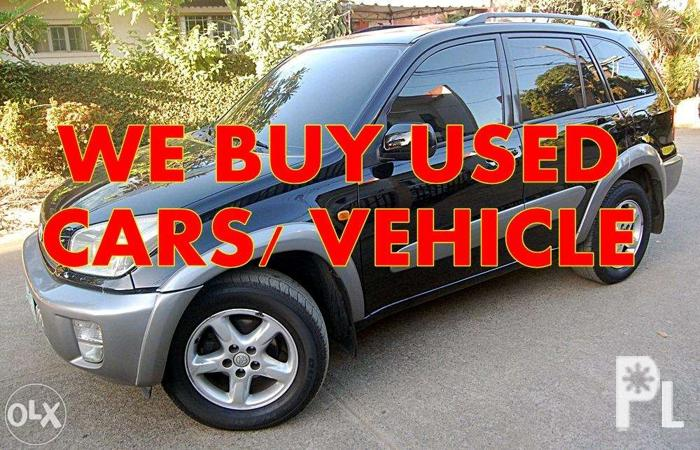 5ee00f4a2c8ca6 We B U Y sedan suv auv van pick-ups for Sale in Pasig City