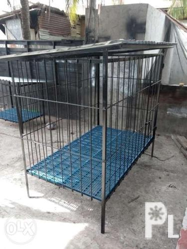 We fabricate dog cage