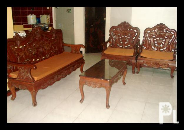 Pure Solid Narra Sala Set Rush Sale Amounting 000 Cainta Hand Dining Philippines