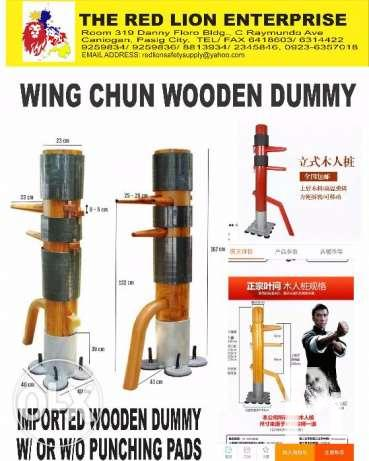 Wing Chun Wooden Dummy For Kung Fu Karate For Sale In Pasig City