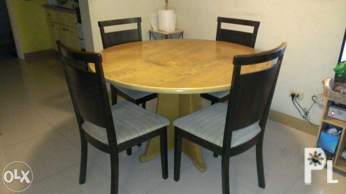 Wood Dining Table Set With Chairs