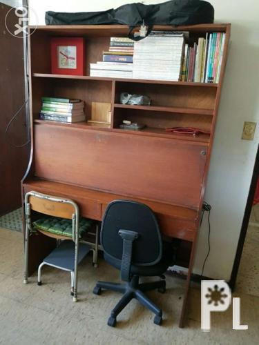 Wood Study Desk Width 3 X Height 6 For Sale In Quezon City National Capital Region Classified