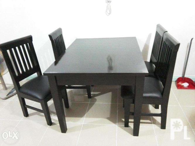 Wooden Furniture 4 Seaters Dining Set For Sale In Quezon City National Capital Region: home furniture quezon city