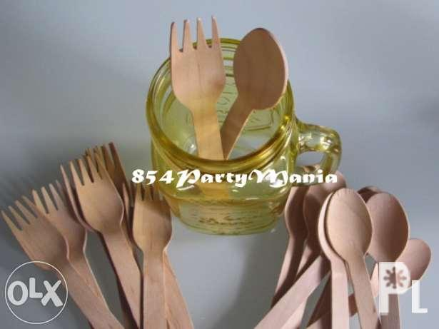 wooden spoon and fork party needs and supplies divisoria