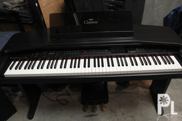 Yamaha clavinova cvp 55 orchestrated digital piano 220v for Used yamaha clavinova cvp for sale