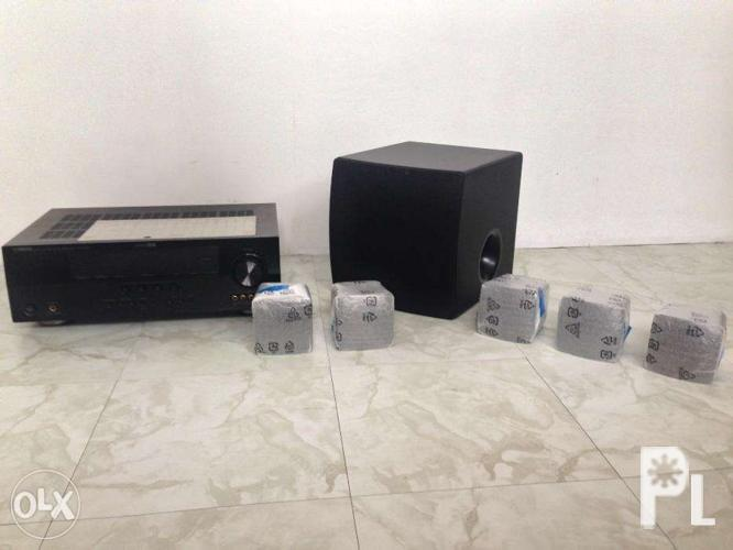 Yamaha Home Theater 51 Model YHT292 Complete Set